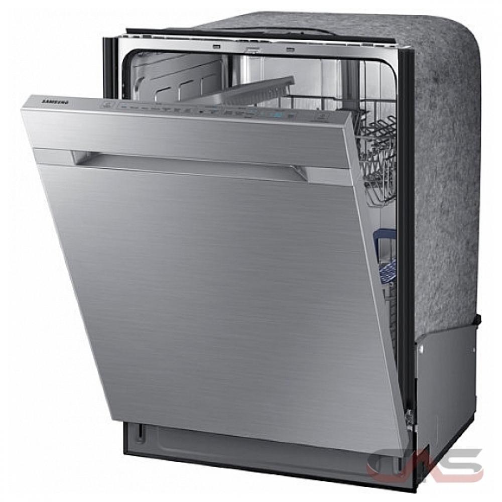 Shop Samsung 55 Decibel Built In Dishwasher Stainless: DW80M9550US Samsung Dishwasher Canada