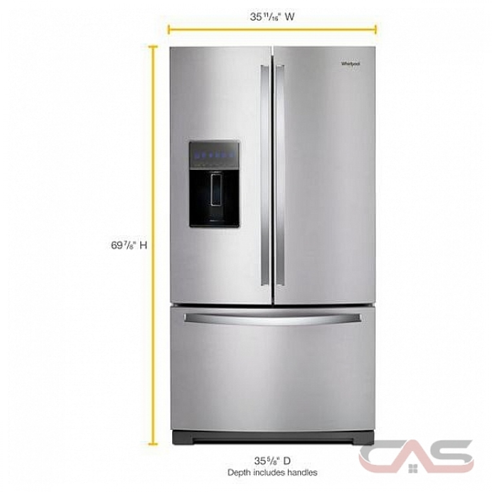 Wrf757sdhz Whirlpool Refrigerator Canada Best Price