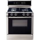 Bosch (HDS7052C)  700 series, Professional Style Continuous Matte Grates, European Convection, 8 cooking modes, 2 Power Burners (16k + 12.5k BTU) + 2 Simmer Burners, Touch & Turn® Electronic Oven