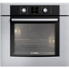 Bosch (HBN5450UC) 300 series, 27 inch, Capacity: 4.2 cu.ft., Convection Bake, Broil, Roast,  Flush-to-Cabinet Design, Ergonomic Dials with Glass Touch Control, Recessed Heating Element