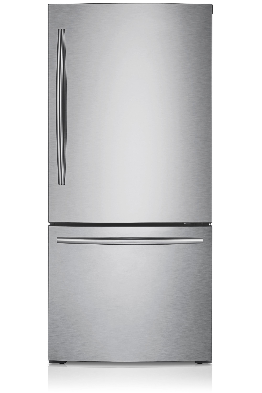 samsung refrigerator model location