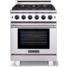 American Range Cuisine Series ARR530N 30 in Pro-Style Gas Range with 5 Sealed Burners, 4.3 cu. ft. Innovection Oven, Manual Clean, Infrared Broiler and Island Trim Included