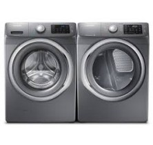 1)Samsung WF42H5200AP Laundry Pair 4.8 Cu Ft Steam Washer <BR>