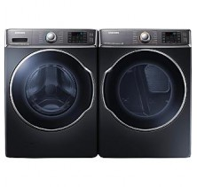 1)Samsung WF56H9100AG Laundry Pair Front Load Steam Washer 6.5 Cu Ft <br>2)Samsung DV56H9100EG Steam 9.5 Cu Ft Dryer