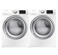 1)Samsung WF42H5100AW Laundry Pair 4.8 Cu Ft Washer <br>2)Samsung DV42H5200EW 7.5 Cu Ft Steam Dryer Laundry Pair