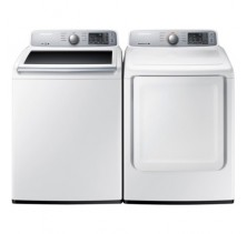 Samsung Top Load Washer WA45H7000AW <br>Samsung Top Load Dryer DV45H7000EW.