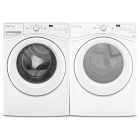 Whirlpool WFW72HEDW 4.8 Cu Ft Front Load Washer <br>Whirlpool YWED72HEDW 7.4 Front Load Electric Dryer
