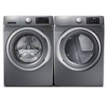 Samsung WF42H5200AP Front Load Washer, 4.8 cu.ft.<br>Samsung DV42H5200GP Front Load Gas Dryer, 7.5 cu.ft.