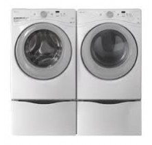 Amana NFW5800DW Washer 4.8 Cu Ft <br>Amana NGD5800DW Gas Dryer 7.4 Cu Ft
