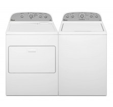 Whirlpool WTW4915EW 4.3 Cu Ft Top Load Washer<BR>Whirlpool YWED4915EW 7.0 Cu Ft Top Load Dryer