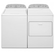 Whirlpool WTW4915EW 4.3 cu. ft. Washer<br>Whirlpool WGD49STBW 7.0 cu. ft.Gas Dryer