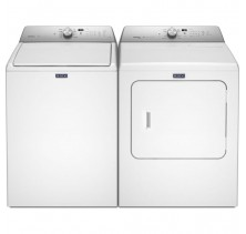 Maytag MVWB755DW 5.5 cu. ft. Top Load Washer<br>Maytag YMEDB755DW 7.0 cu. ft. Electric Steam Dryer