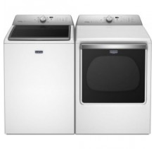 Maytag MVWB855DW 6.1 cu. ft. Top Load Washer<br>Maytag YMEDB855DW 8.8 cu.ft. Electric Dryer