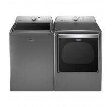 Maytag MVWB855DC 6.1 cu. ft. Top Load Washer<br>Maytag YMEDB855DC 8.8 cu. ft. Electric Steam Dryer