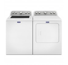 Maytag MVWX655DW 5.0 Cu Ft. Top Load Washer<br>Maytag MGDX6STBW 7.0 cu. ft. Gas Dryer