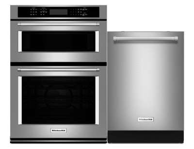 Kitchenaid Kitchen Appliance Packages Microwave Wall Oven