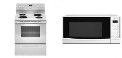 whirlpool kitchen appliances clearance range ywfc150m0ew countertop microwave wmc10007aw from