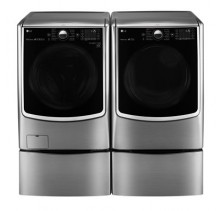 LG WM5000HVA 5.2 cu.ft. Front Load Washer<br>LG DLEX5000V 7.4 cu.ft. Electric Dryer