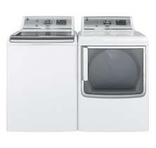 GE GTW810SSJWS 5.9 cu.ft. Top Load Washer <br>GE GTD81GSMJWS 7.8 cu.ft. Gas Dryer
