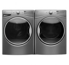 Whirlpool WFW92HEFC 5.2 Cu Ft. IEC, Front Load Washer<br>Whirlpool YWED92HEFC 7.4 Cu Ft., Electric Dryer