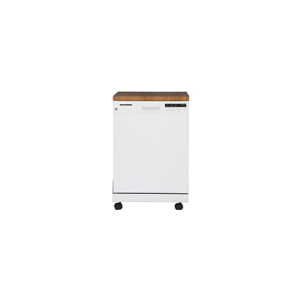 Gbe21agkww gpf400sgfww from canadian appliance source - Portable dishwasher stainless steel exterior ...