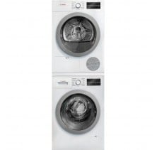 "WAT28401UC 24"" Front Load Washer with 2.2 cu.ftWTG86401UC 24"" Compact Electric Dryer with 4.0 cu. ft."
