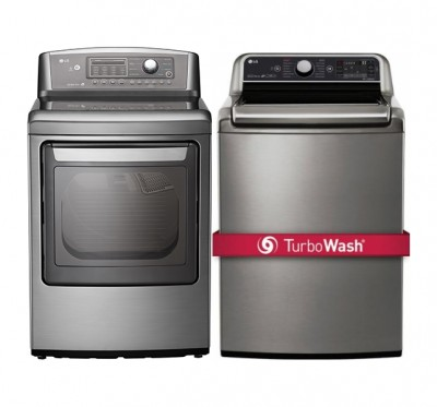 Lg Wt7600hva Top Load Washer 27 Quot Width Energy Efficient