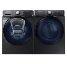 Samsung WF50K7500AV 5.8 Cu Ft Steam Washer, Add to Wash Samsung DV50K7500EV 7.5 Cu Ft Steam Dryer