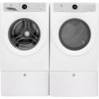"Front Load Washer, 27"" Width, Energy Efficient, 4.3 Cu. Ft. Capacity, 5 Wash CyclesDryer, 27"" Width, Gas Dryer, 8.0 Cu. Ft. Capacity, 5 Dry Cycles"