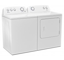 1)Amana NTW4700YQ Top Load Washer, 3.4 Cu.Ft, 11 Wash Cycles, 3 Temperature settings<br>2)Amana NGD4700YQ Gas Dryer, 7.0 Cu.Ft, with 12 Dry Cycles, 4 Temperature Settings