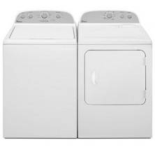 1)Whirlpool WTW4800BQ Top-Load Washer 27 in with 4.2 cu. ft. Capacity, 9 Cycles, 5 Temperatures<br>2)Whirlpool YWED4800BQ Electric Dryer 29 in with 7.0 cu. ft. Capacity, 16 cycles, 4 temperatures